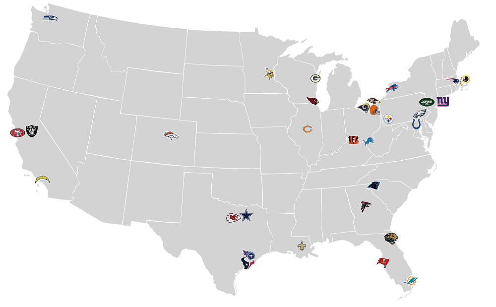 What The Nfl Would Look Like If Teams Were Not Allowed To